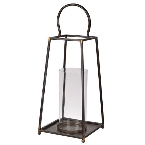 Sanders Metal Candle Lantern