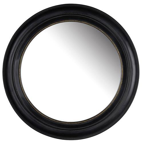 Sable Round Mirror