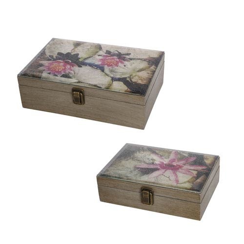 kathy ireland designs Multicolor Boxes, Set of Two