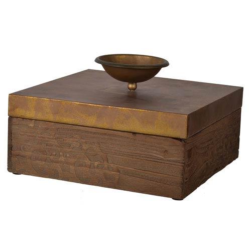 A & B Home Short Kayden Square Decorative Box