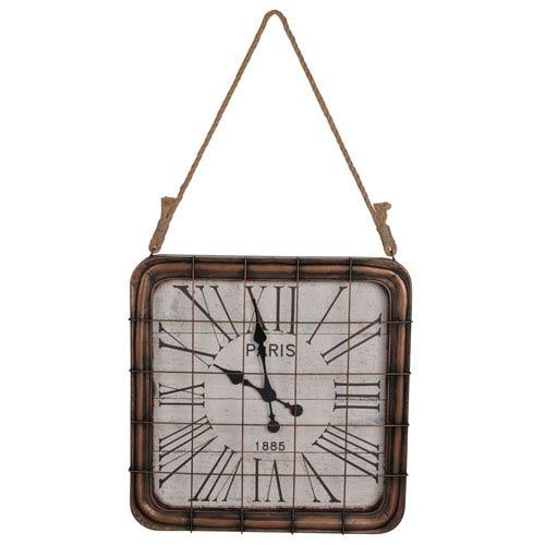 Hayden Bronze Wall Clock