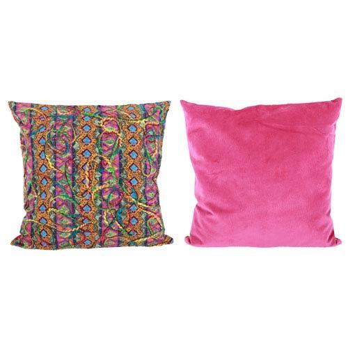 A & B Home Multicolor 20-Inch Decorative Pillow