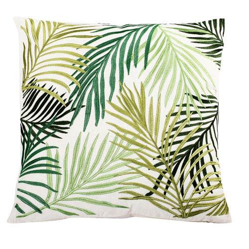 Palmetto Multicolor 18-Inch Embroidered Pillow