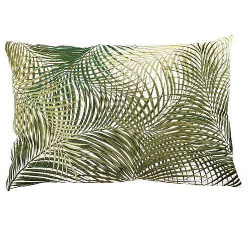 Palmetto Multicolor 14 x 20-Inch Embroidered Pillow