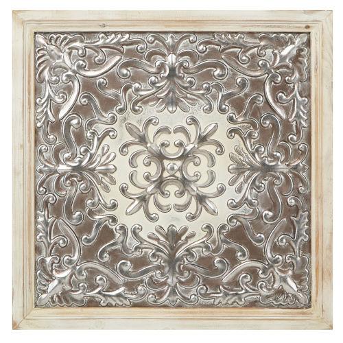Padmini Silver Metal Wall Decor