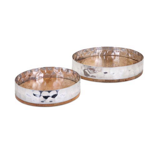 Persimmon Trays , Set of 2