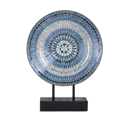 Mosaic Charger on Stand