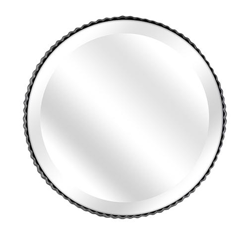 Berry Patch Gray Decorative Pie Tin Mirror