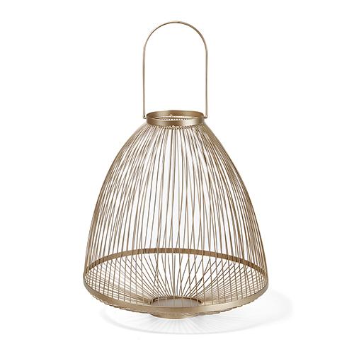 Sofia Gold Large Lantern
