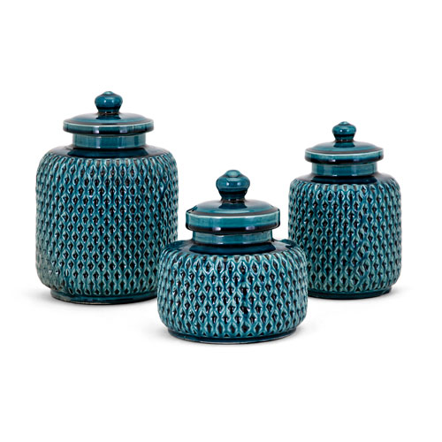 IMAX Maya Lidded Containers, Set of 3