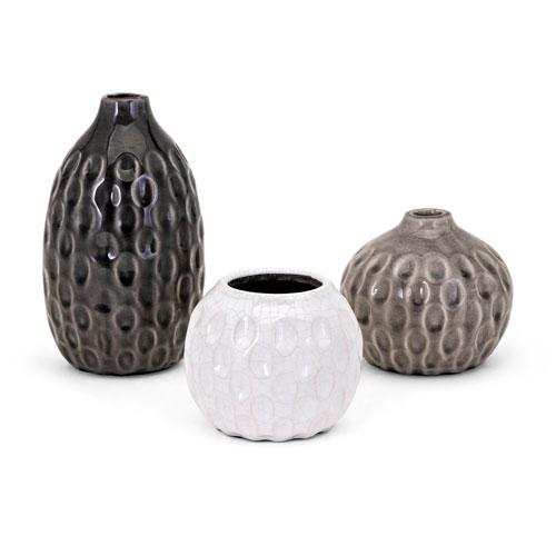 IMAX Essary Vases, Set of 3