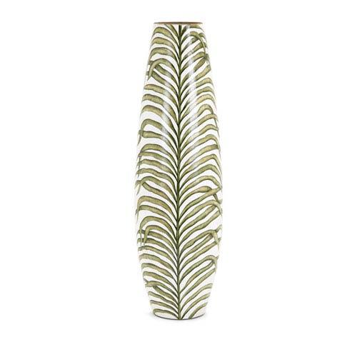 Palm Handpainted Large Vase