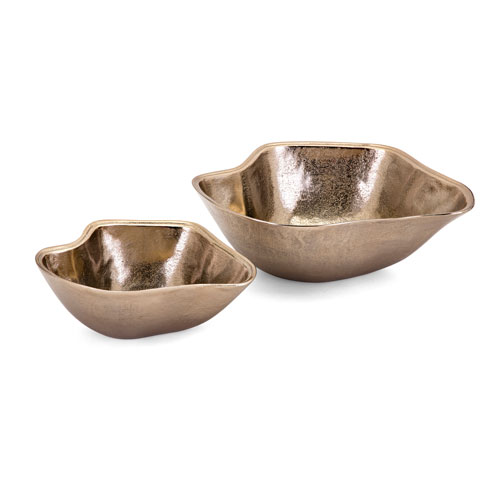 Machar Decorative Wavy Bowls, Set of 2