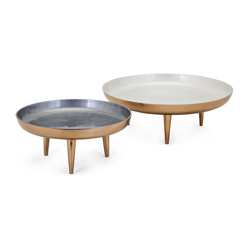 Pryce Decorative Trays, Set of 2