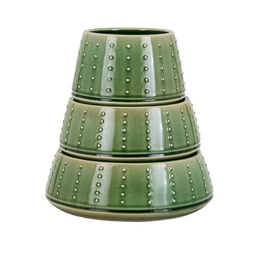 Nopal Green Planters - Set of 3