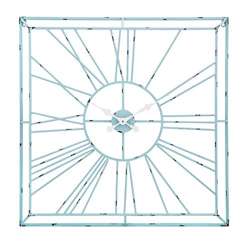 Tallie Wall Clock in Teal