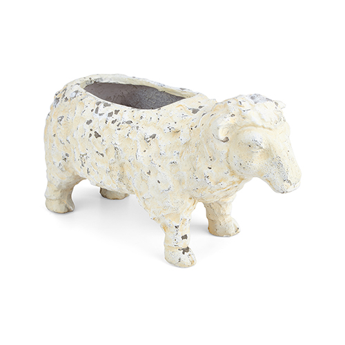 Irene White Sheep Planter