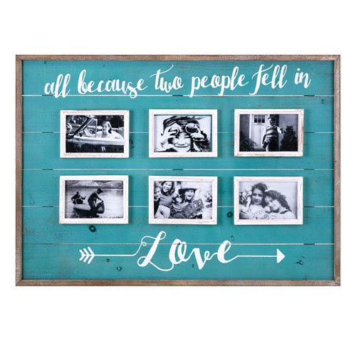 Love Collage Wall Frame