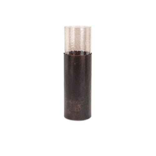 Arkin Copper Small Candle Floor Cylinder