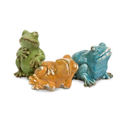 IMAX Garza Casual Frogs - Set of Three
