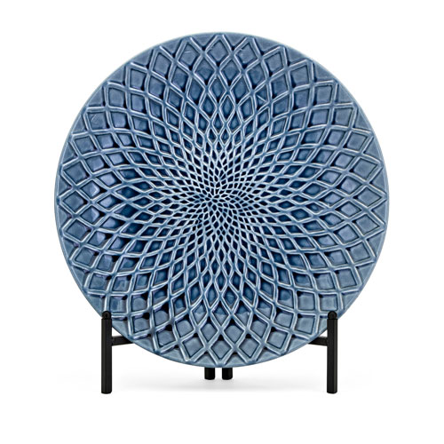 IMAX Nasrin Decorative Charger with Stand