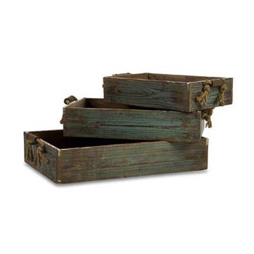 IMAX Northfork Wood Trays, Set of Three