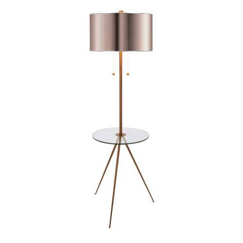 Largent Gold One-Light Floor Lamp