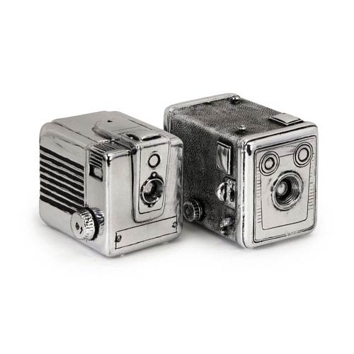 Vintage Camera Boxes - Set of Two