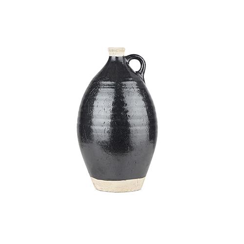 Wrangler Black Large Vase