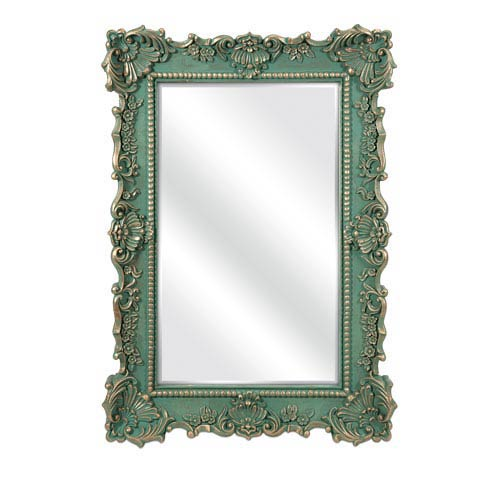 Sophia Green Wall Mirror
