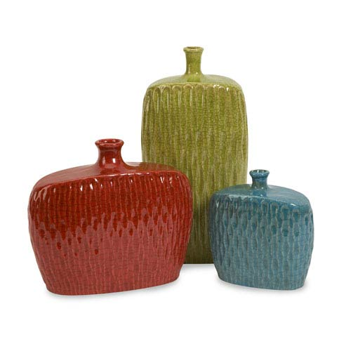 IMAX Herrera Vases - Set of Three