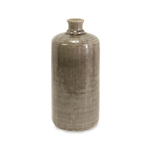 IMAX Small Kempton Grey Jar