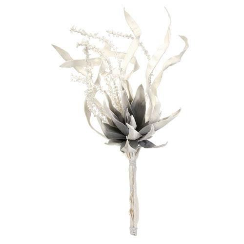 IMAX Claudette White Floral Bundle