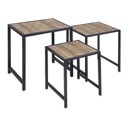 IMAX IK Groveport Nesting Tables - Set of Three