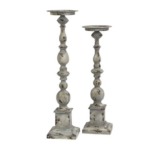 IMAX Hamilton Candle Holders - Set of Two