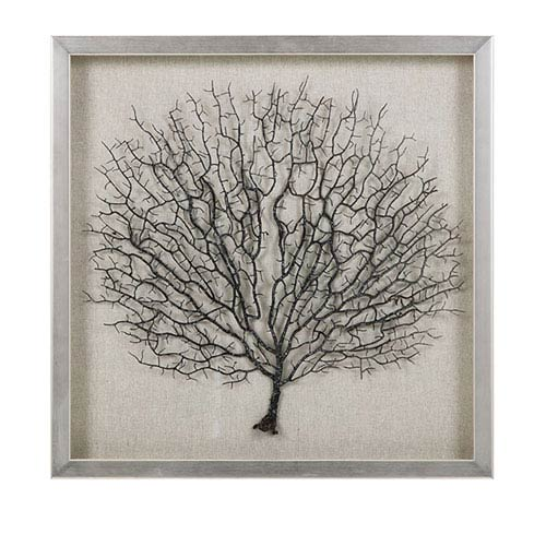 IMAX Bodaway Coral in Shadowbox with Frame