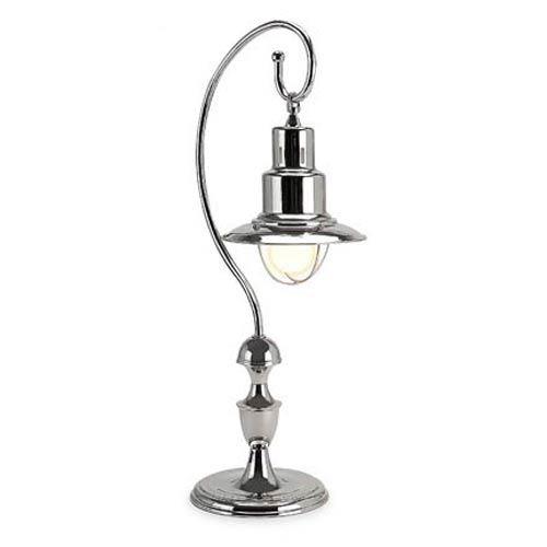 IMAX Nickel Station Table Lamp