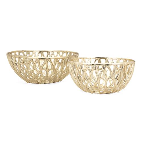 Abbey Gold Bowl, Set of 2