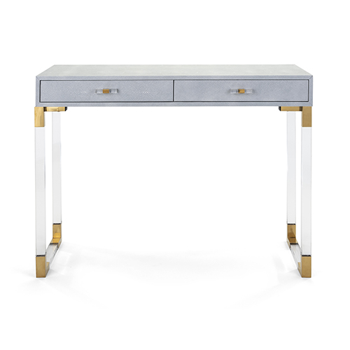 Misty Blue Console Table