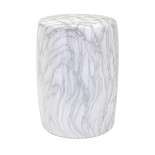 Marella Gray Ceramic Garden Stool