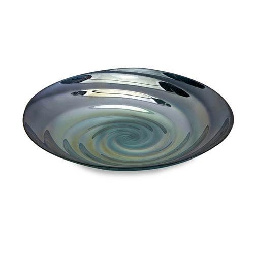 IMAX Moody Swirl Glass Tray