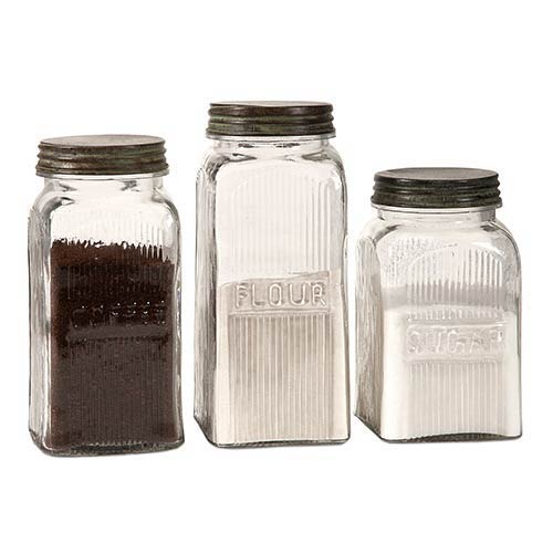 IMAX Dyer Glass Canister, Set of Three