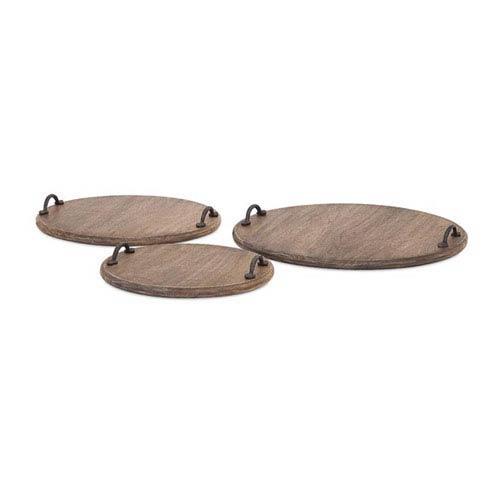 Breanna Mango Wood Bread Boards, Set of Three
