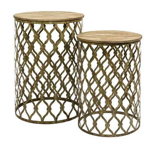 IMAX Maridell Nesting Tables - Set of Two