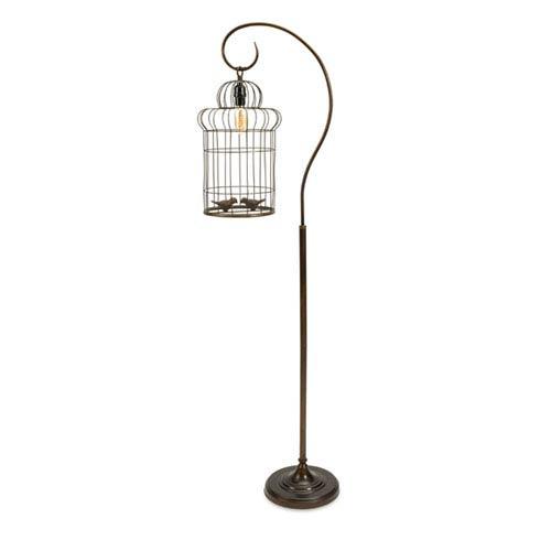 Carina Birdcage Floor Lamp
