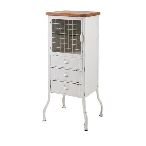 Zane Three-Drawer Metal Cabinet