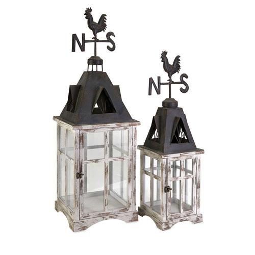 IMAX Weather Vane Lanterns - Set of Two