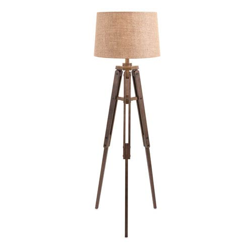 Concord Brown One-Light Floor Lamp