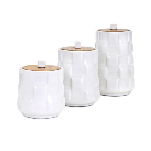 Gamil Canisters, Set of 3