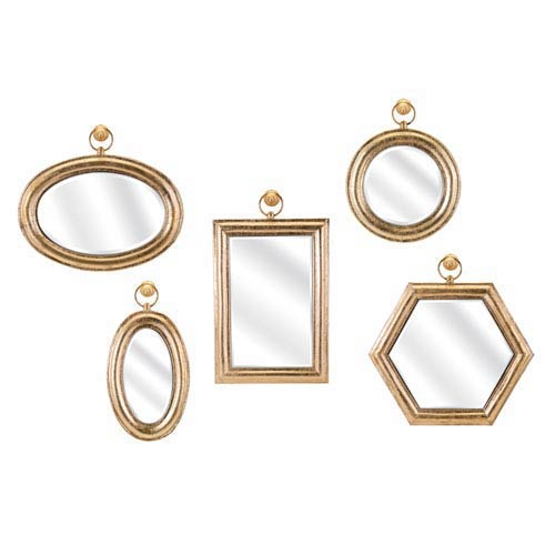 Rylan Wall Mirrors, Set of 5